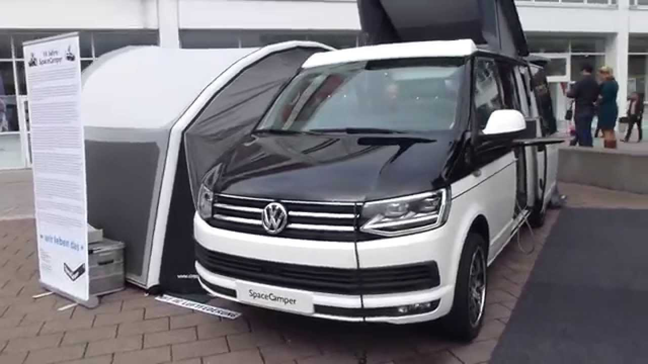 2015 iaa vw t6 39 39 spacecamper 39 39 exterior interior see. Black Bedroom Furniture Sets. Home Design Ideas