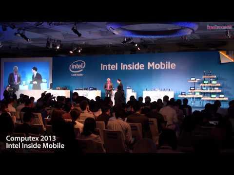 Intel Computex 2013 Inside Mobile Press Conference