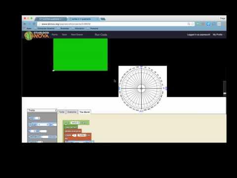 StarLogo Nova- math basics