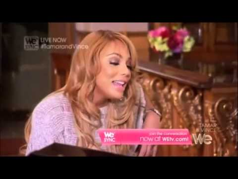 Tamar Braxton singing