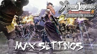 Dynasty Warriors 8: Xtreme Legends CE | Max Settings