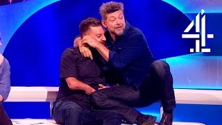 Andy Serkis Gets Close With Alex When Ape-Acting  | The Last Leg