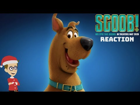 SCOOB 2020 Official Trailer (Reaction)