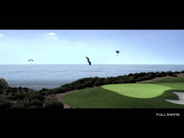 Full Swing Golf Software Torrey Pines South Flyover