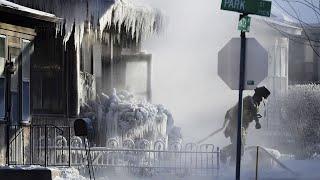 Страшные морозы превратили Техас в лед. Люди замерзают насмерть