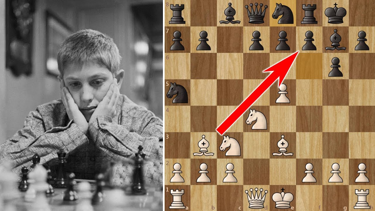 Bobby Fischer beats a Grandmaster in 10 moves! (But