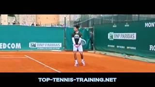Novak Djokovic Backhands Slow Motion