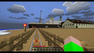 The Ship of Dreams The Titanic #1 Minecraft The Magic Carrot