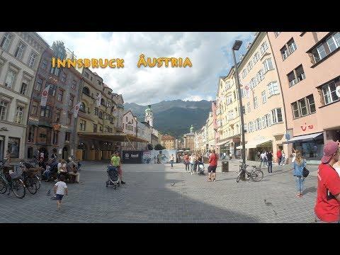 Um Dia Em Innsbruck Na Áustria, Com Uma Curiosidade Muito Interessante!