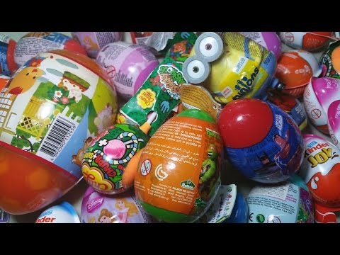 Egg Surprise: 35Easter Special -HelloKitty, KinderJoy, DisneyPrincess, SupermanBatman, Minions, TMNT