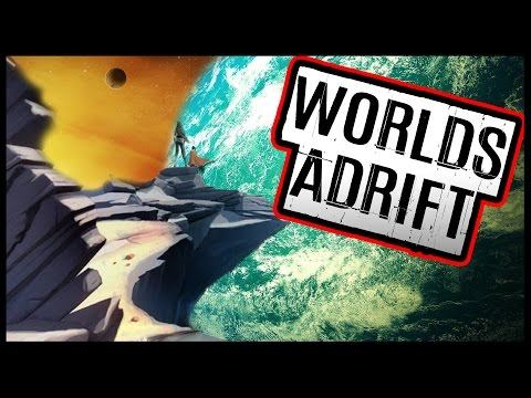 Worlds Adrift - Airships, Grappling Hooks! Become A Sky Pirate! - Let's Play Worlds Adrift Gameplay