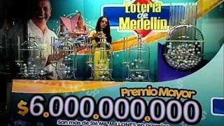 Sorteo de la Lotería de Medellín número 4254 - 23/01/2015