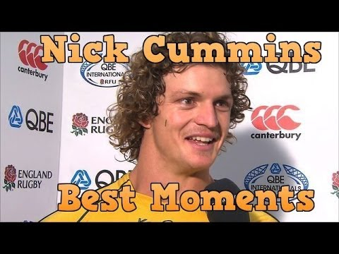 The Funniest Moments of Nick Cummins The Honey Badger