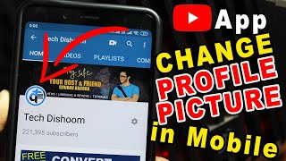 How to change YouTube Profile Picture on Android or IOS 2019