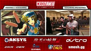 CEOTAKU 2017 GGXrD R2 Pools - KNOWKAMI vs R/KAPPA KEDAKO