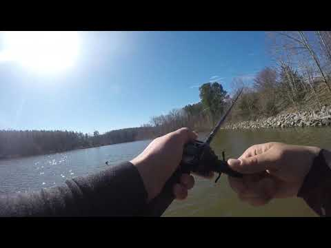 6 Pound Bass At Sandy River Reservoir