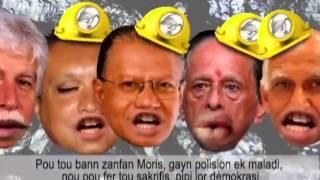 Mauritius CT Power : Mwa mo kontan Sarbon (Music)