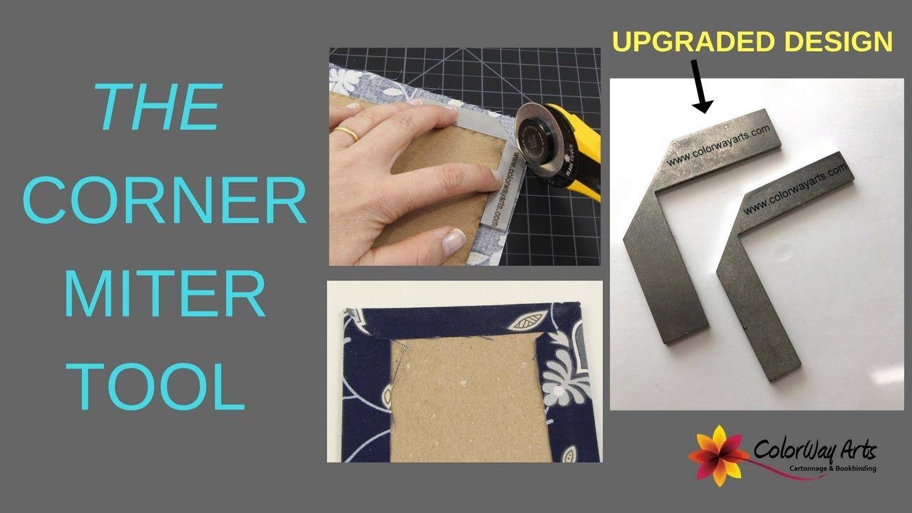 Bookbinding Miter Tool Corner Miter Tool Cartonnage Miter Tool