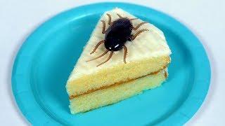 ROACH IN ICE CREAM CAKE!