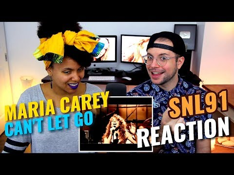 Mariah Carey - Can't Let Go | Live At The Saturday Night 1991 | REACTION