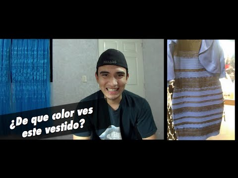 TheDress  De que color ves este vestido  YouTube