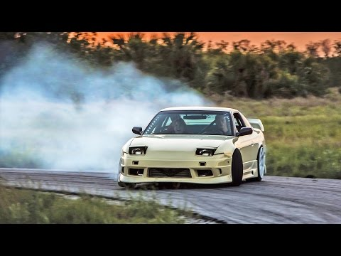 Drifting my S13 in an Abandoned Development