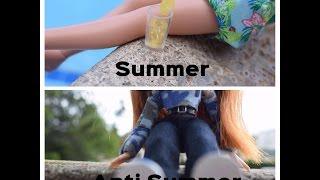 BRATZ SUMMER VS ANTI-SUMMER LOOKS