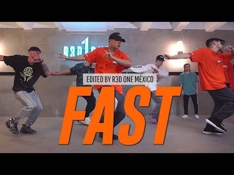 "Sueco The Child ""FAST"" Choreography By Duc Anh Tran // Edit By R3D ONE Mexico"