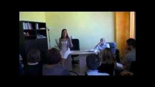 Dr.La Chiusa Silvia  conferenza 21.9.14 parte 1°