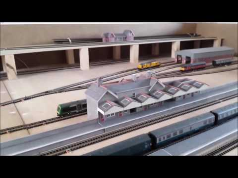N gauge layout for sale from Manchester Model Railways