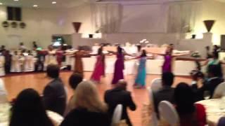 Cousins Dance at Wedding Reception -Tamil, English and Hindi songs