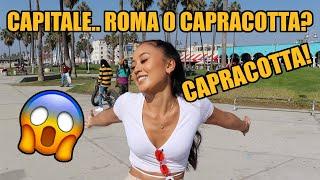 Cosa sanno e pensano dell'ITALIA in AMERICA? Domande a LOS ANGELES | EP.4