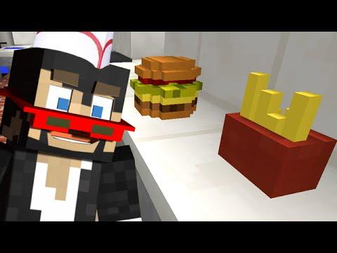 Minecraft: MY NEW FAST FOOD JOB! - Order Up thumbnail