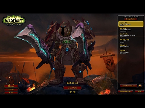 "Bajheera - Fury Warrior ""ENRAGED PURSUIT"" BG Rampage - WoW 7.1.5 Warrior PvP"