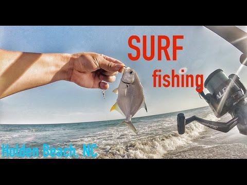 SURF fishing Holden Beach, North Carolina