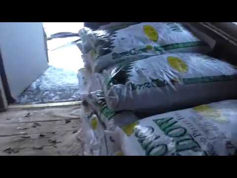 Unwrapping A Ton Of Stove Chow Wood Pellets From Home Depot Alpena  Michigan!! - Unwrapping A Ton Of Stove Chow Wood Pellets From Home Depot Alpena
