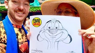 HOW TO DRAW-TIMON auf ANIMAL KINGDOM ' s *Neu* Animation Erfahrung in der Naturschutz-Station!