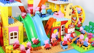 Peppa Pig Lego House Toys For Kids - Lego House With Water Slide Creations Toys #6