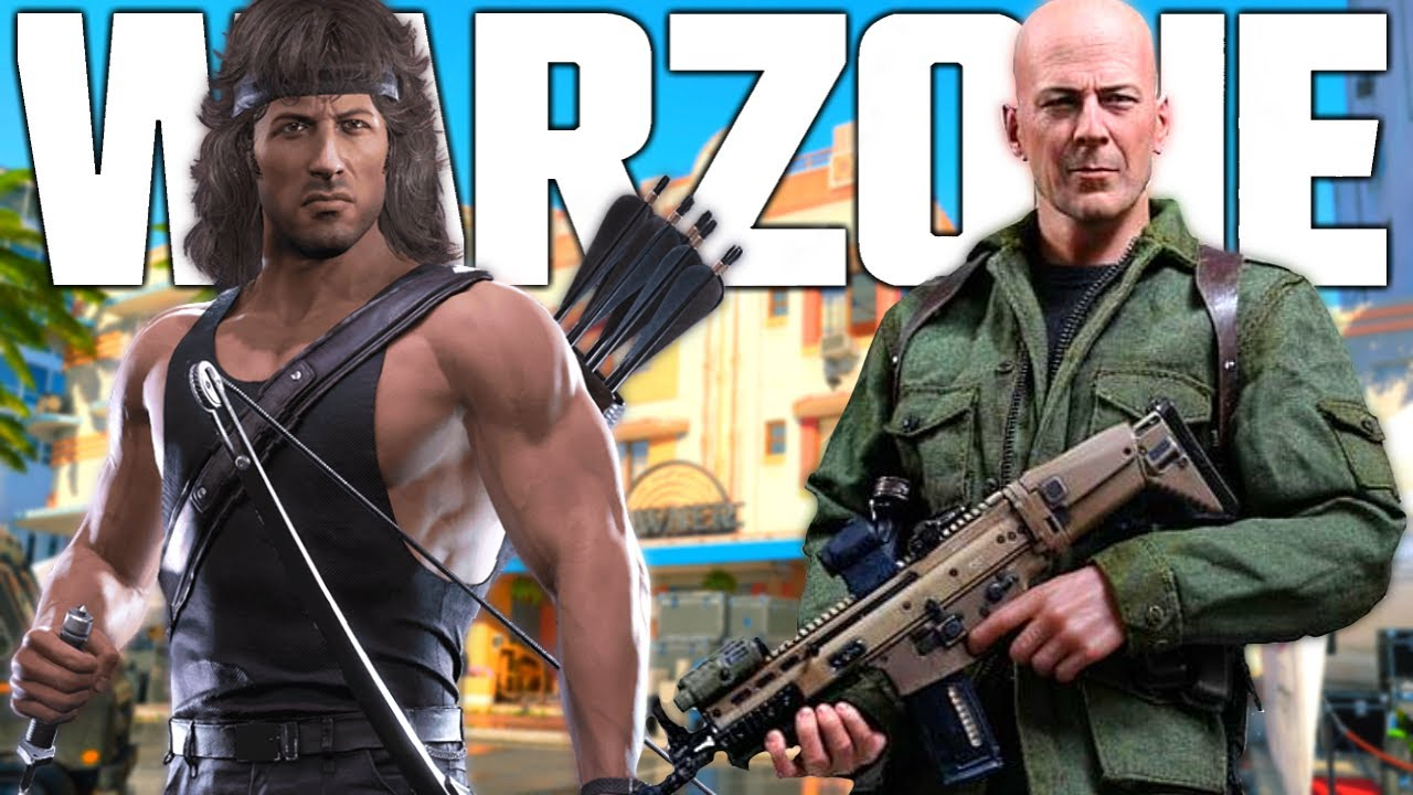 Die Hard & Rambo Crossovers coming to Warzone! (More Teasers!) - YouTube