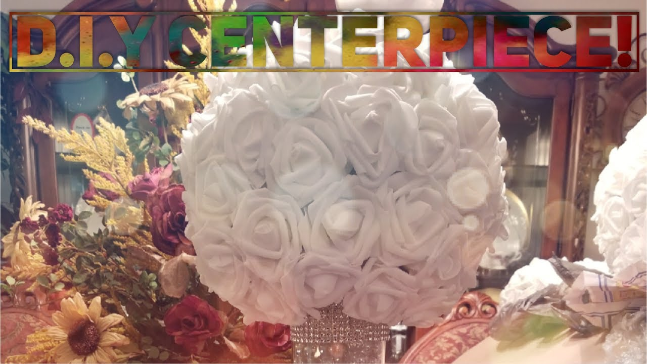 Diy Wedding Centerpiece Kissing Ball With Roses Youtube