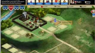 Kingdoms Of Camelot Intro Part 1 starting the game
