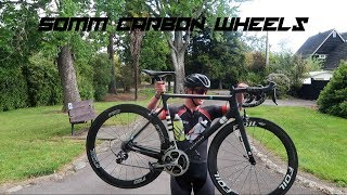 What is it like to ride 50mm carbon wheels?