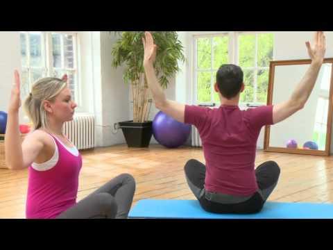 Full Upper-body Pilates workout