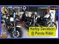 Harley test ride at Panda Rider