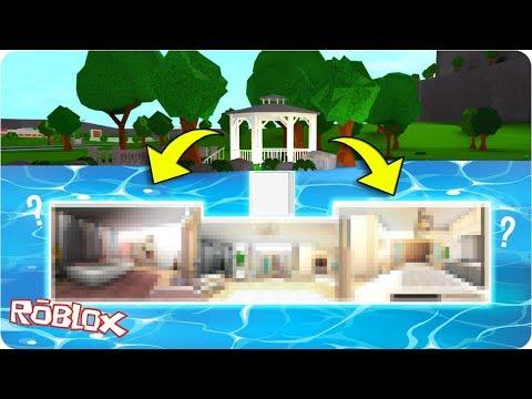 I Built A Secret Underwater Inspired House In Bloxburg Bloxburg