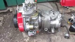 видео Установка на днепр дизельный двигатель
