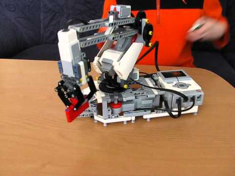 lego mindstorms ev3 roboterarm youtube. Black Bedroom Furniture Sets. Home Design Ideas