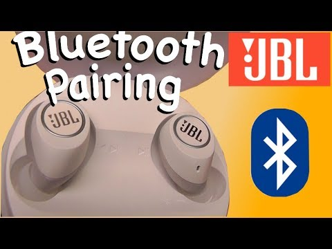 How to Pair JBL Free wireless in ear headphones by Bluetooth to a phone