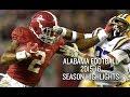 Alabama Football 2015-16 Season Highlights - National Champions