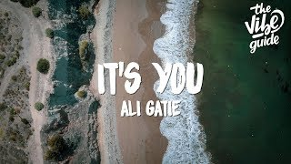 Cover images Ali Gatie - It's You (Lyrics)
